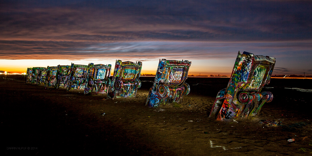 Cadillac Ranch - Amarillo, TX