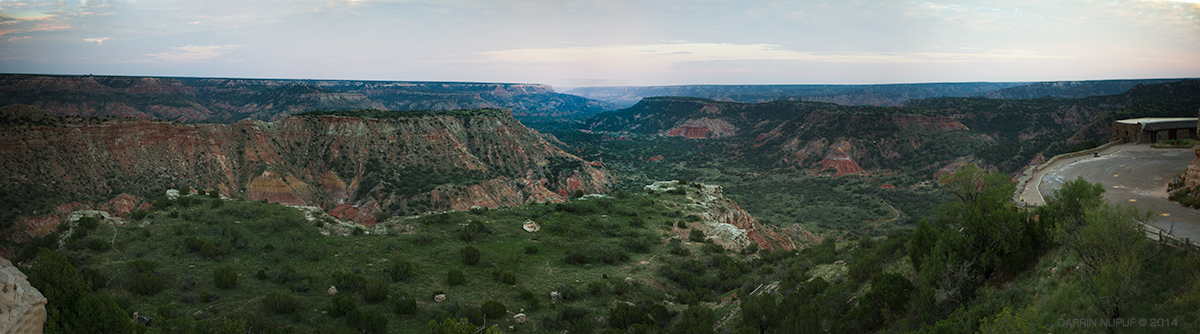 Palo Duro Canyon Panoramic
