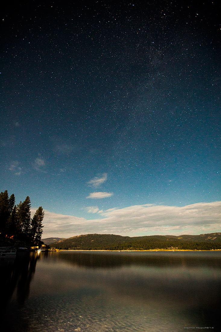 SHAVER LAKE STARS - VERTICAL PANORAMIC PRINT